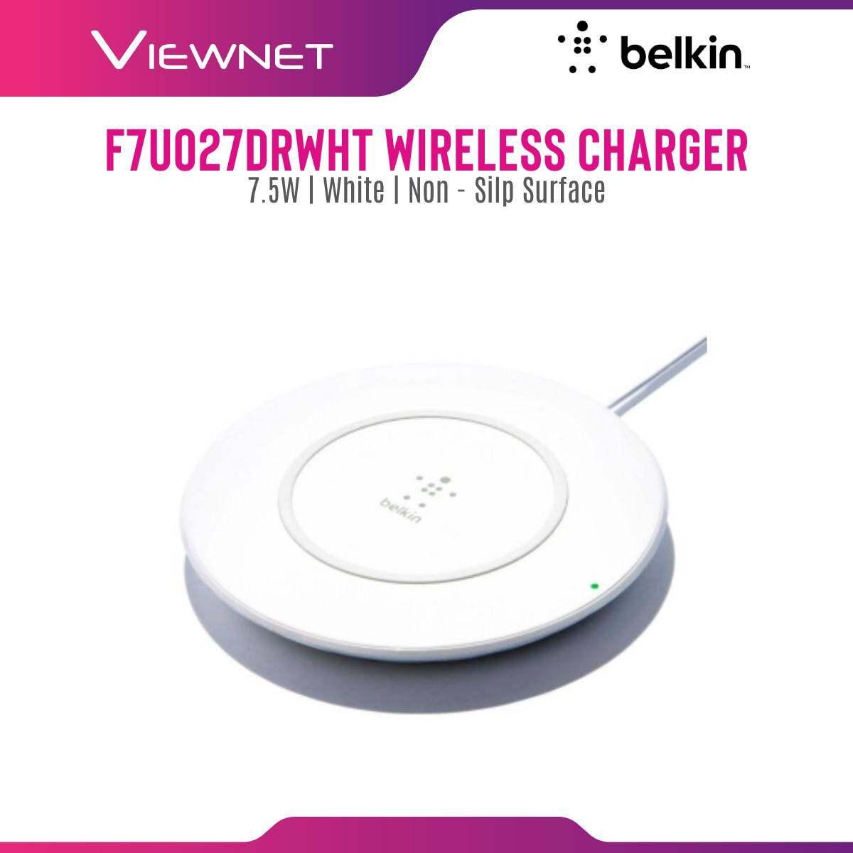 Belkin F7U027DRWHT Boost Up Wireless Charger 7.5W