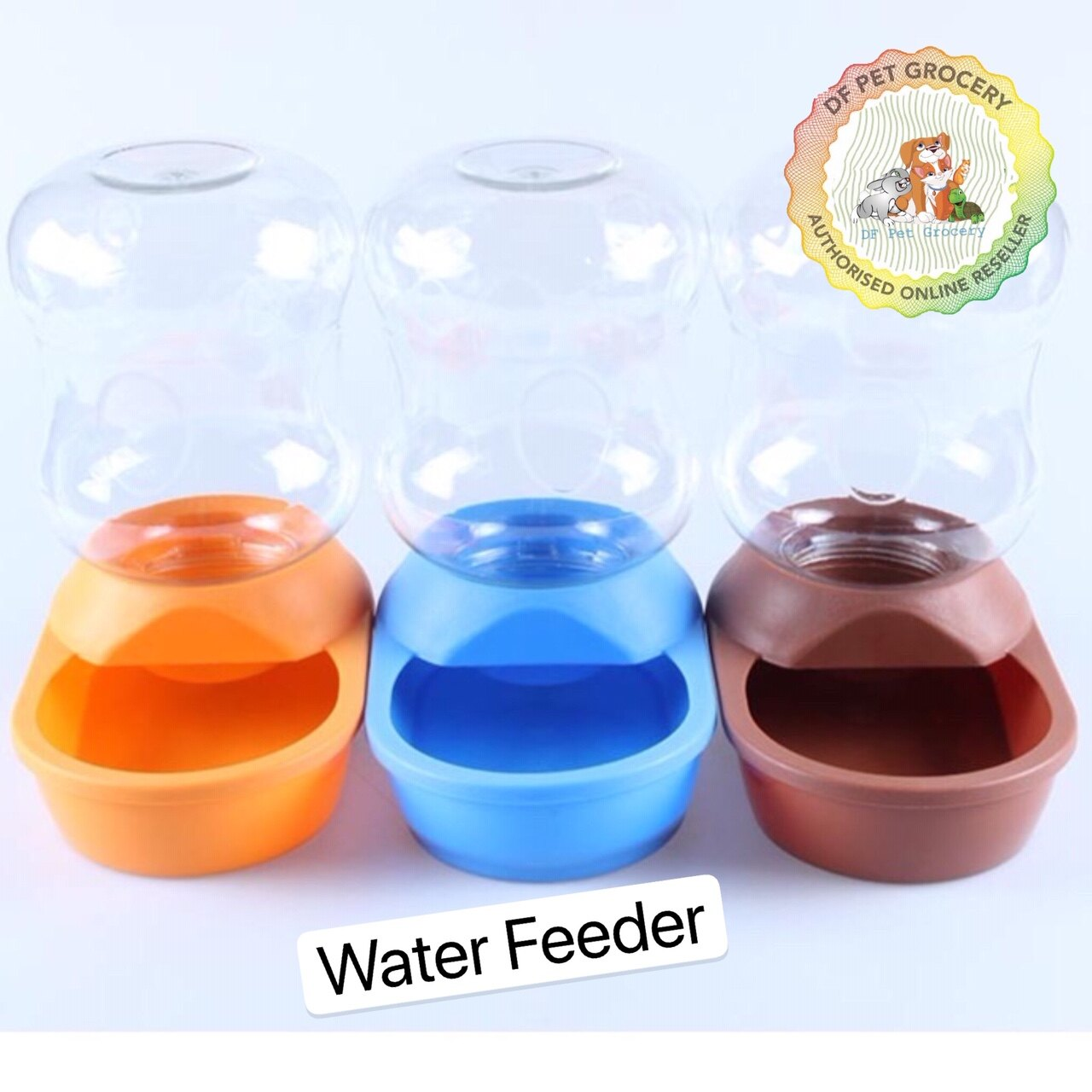 Pet Automatic Water feeder 2 Liter for Cat & Dog 6588 Random Colour