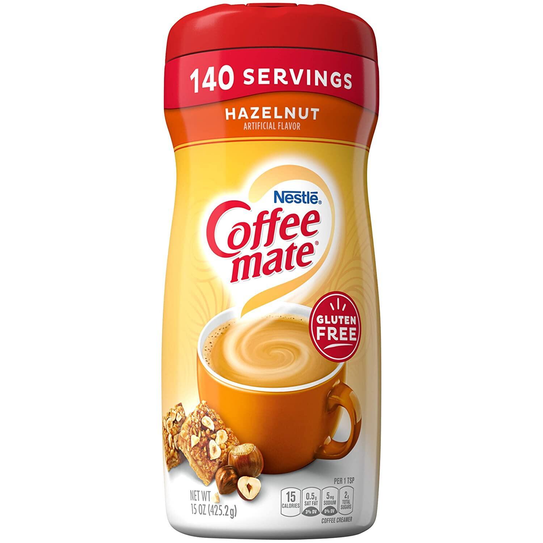 COFFEE CREAMER Nestle Coffee Mate Hazelnut Coffee Creamer (16 Oz) Coffee or Tea
