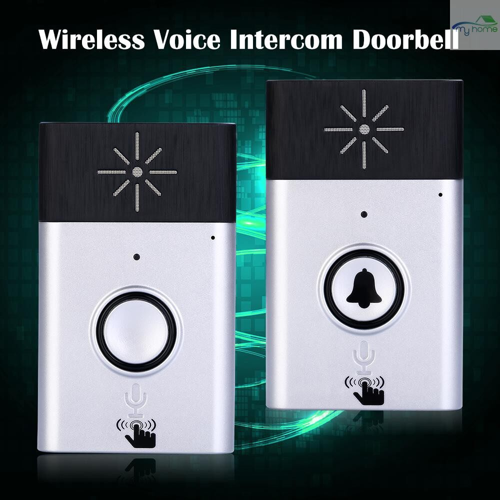 Security & Surveillance - WIRELESS Voice Intercom Doorbell 2-way Talk Monitor with 1Outdoor Unit Button 2 Indoor Unit - GOLD-2 / GOLD-1 / SILVER-2 / SILVER-1