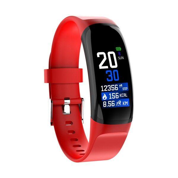 Chargers - Smart Bracelet Adjustable Brightness Blood Pressure Monitor Fitness Tracker - RED / GREY / BLACK / BLUE