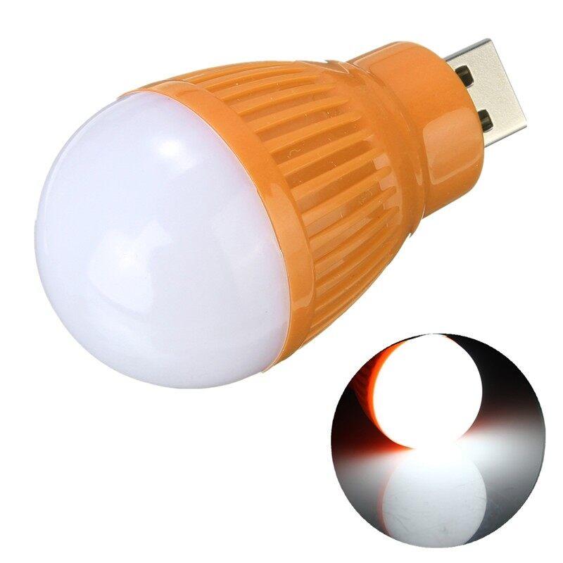 USB Light - USB 5V LED Light Lamp Bulb For Laptop Computer PC - RED / ORANGE / BLACK / WHITE / PURPLE / YELLOW / PINK / GREEN / ROSE RED
