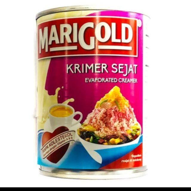 Marigold Krimer Sejat/Susu Cair/ Evaporated Creamer 390g