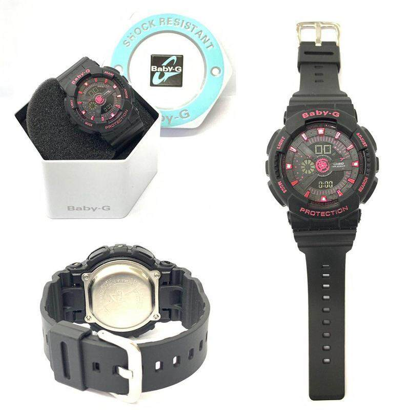 Special Promotion New Sport Casio_G_SHOCK_Dual Time Display Fashion Casual Watch For Woman Ready Stock