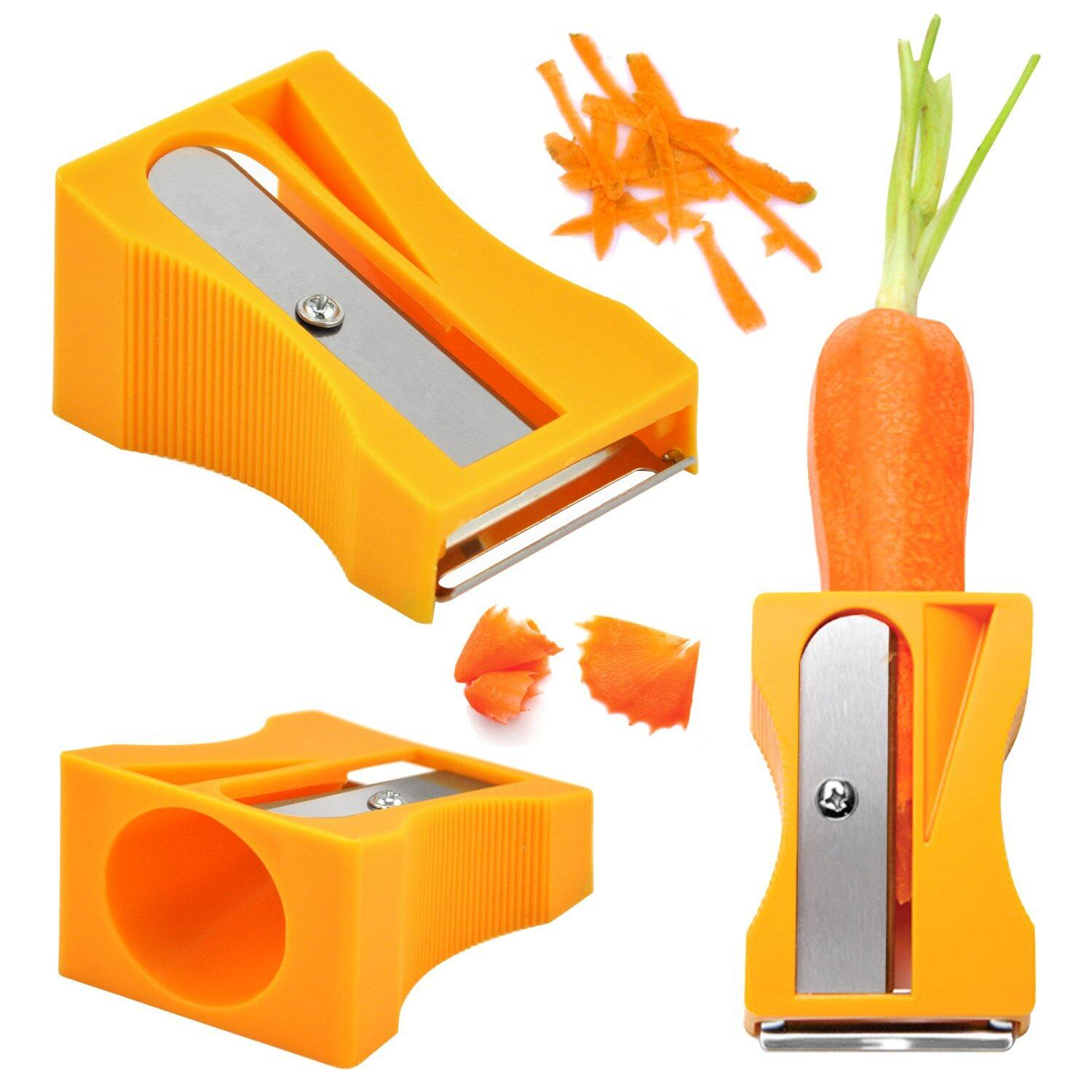 READY STOCK Japan Vegetables Sharpener & Peeler - 7478