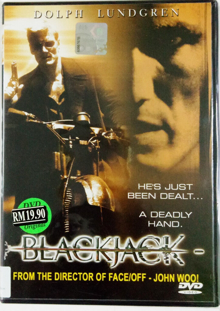English Movie Blackjack 1998 Film DVD Dolph Lundgren