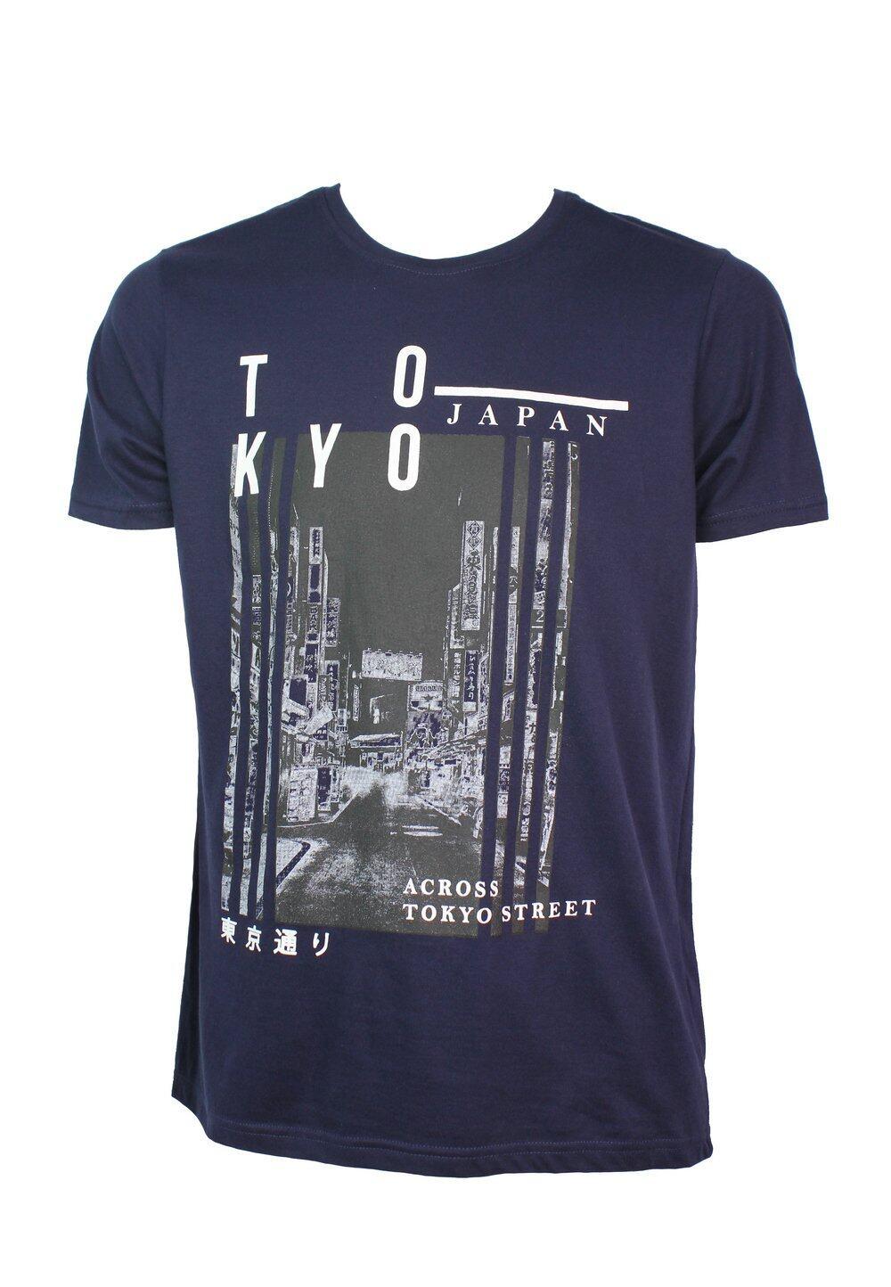 Tokyo Graphic Print T-shirt 939