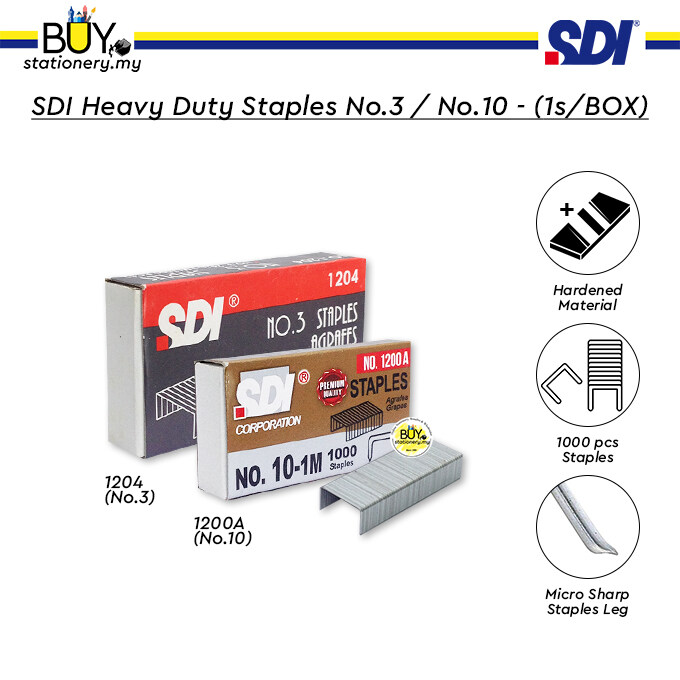 SDI Heavy Duty Staples - (1s/BOX)