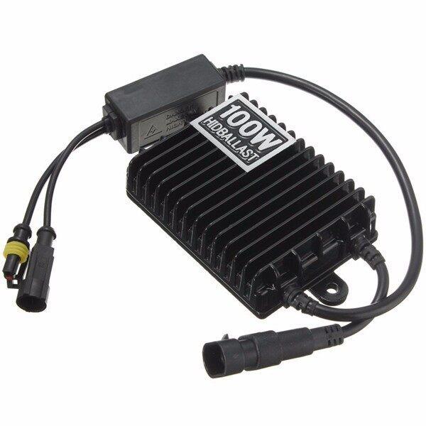 Car Lights - 100W ULTRAthin Xenon HID Ballast Replacement Xenon Ballast Reactor Light 12V DC - Replacement Parts