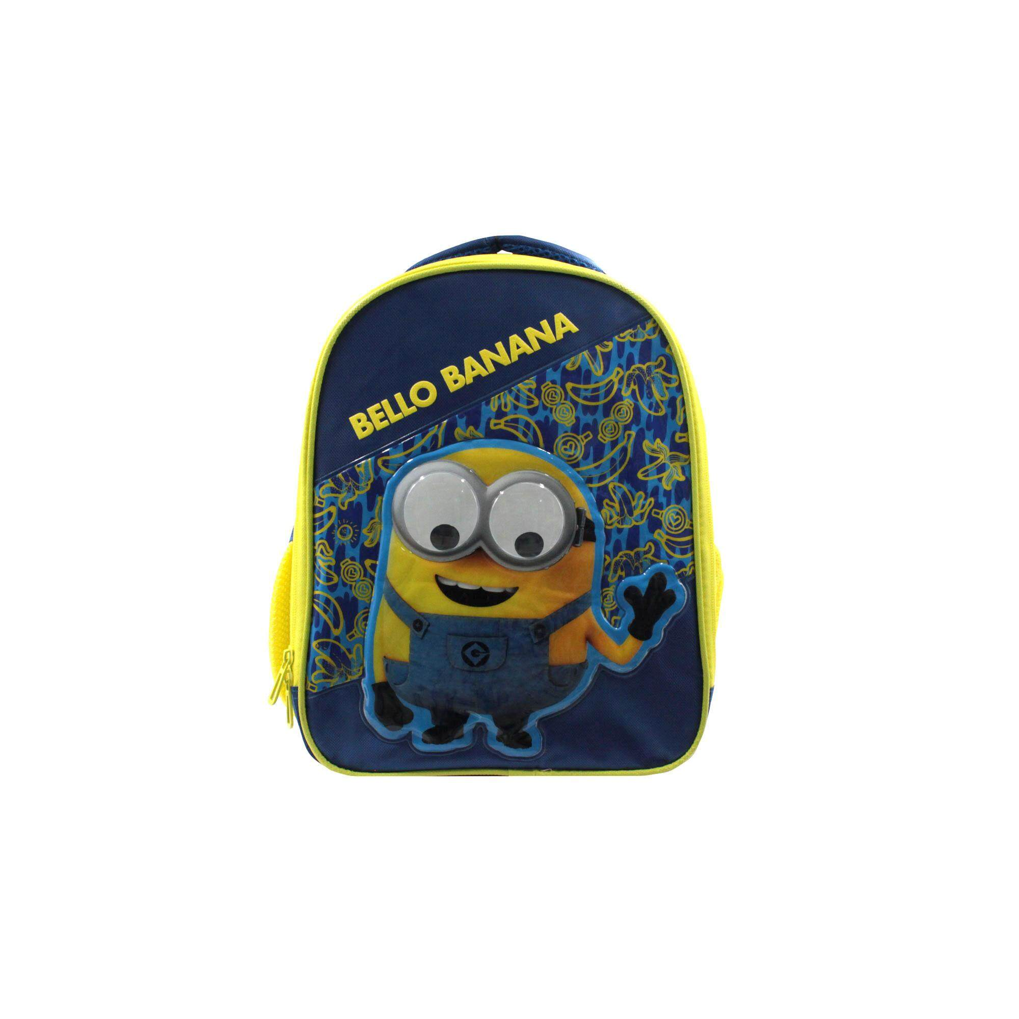 Despicable Me Minions Children Cartoon Character 14 Inch School Backpack