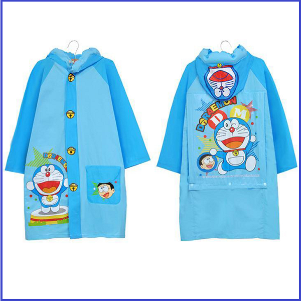 (Ready Stock in Selangor) Kids Raincoat Cartoon6