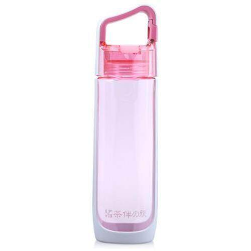 CARGEN V71012 800ML PORTABLE PC TRAVEL WATER KETTLE BOTTLE FOR OUTDOORS (PINK)