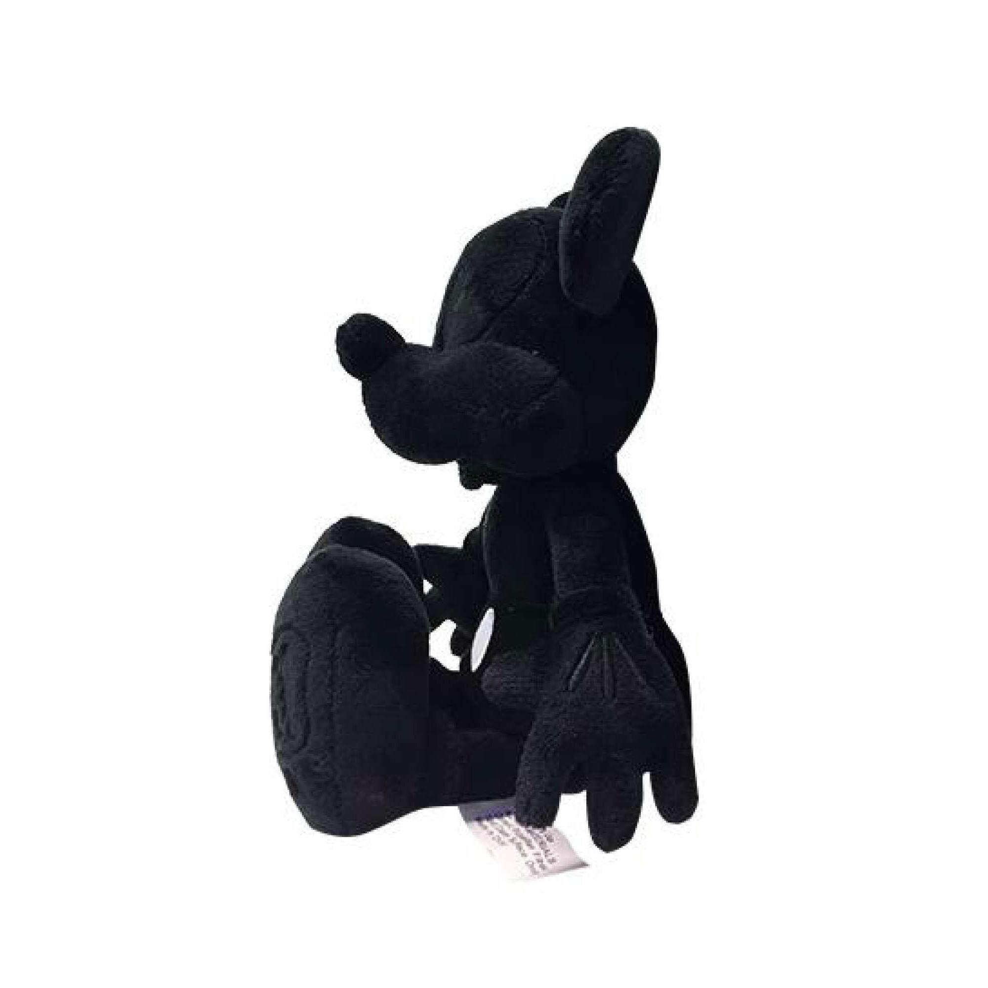 Disney Mickey 90th Anniversary 10 Mickey Plush Toy - Black