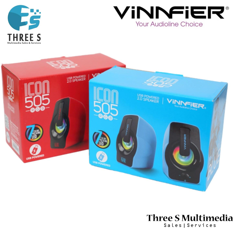 READY STOCK VINNFIER ICON 505 RGB SPEAKER
