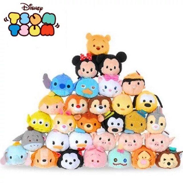 Ready Stock Disney Tsum Tsum toys   plush   Doll   stuffed   Birthday