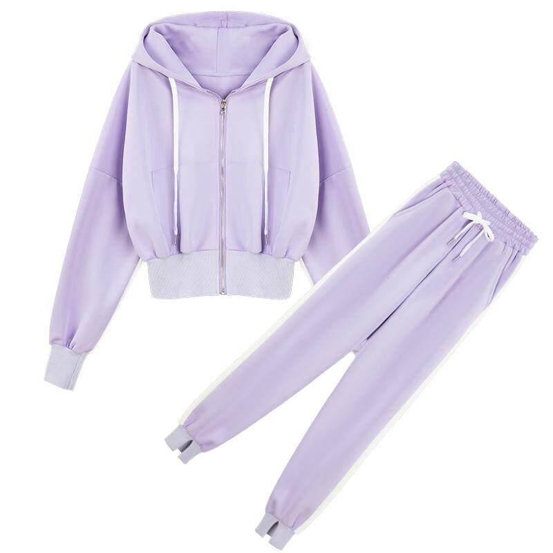 JYS Fashion Korean Style Women Sport Wear Set Collection 328D - 8953