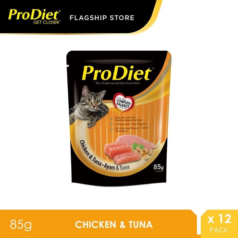 ProDiet 85G Chicken Tuna Wet Cat Food X 12 Packs [makanan kucing]