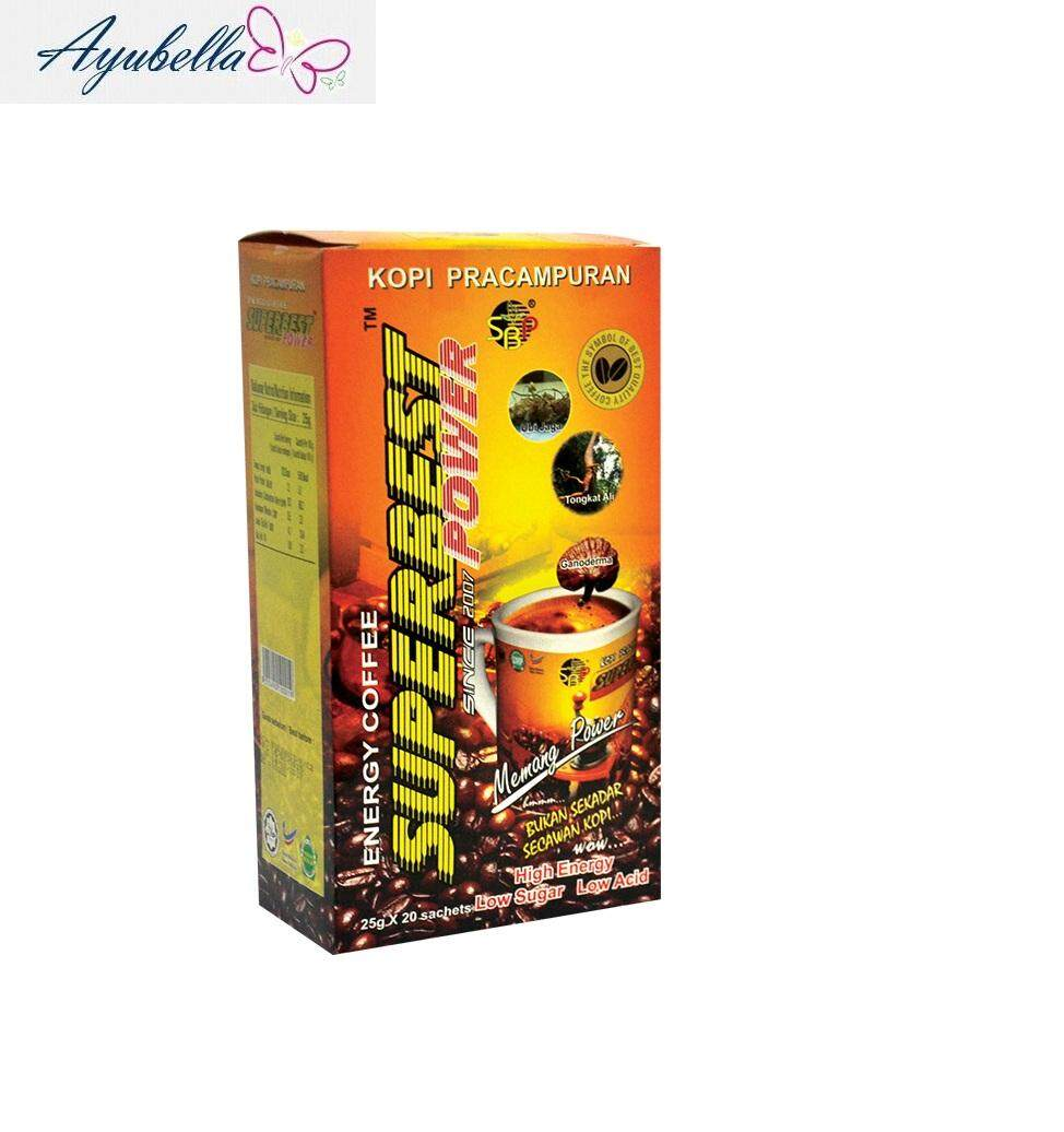 SuperBest Power Energy Coffee (25gdx20sachets)