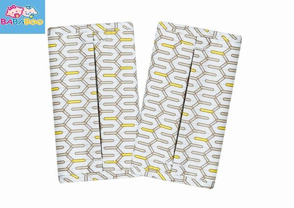 Baby Carrier Teething Pads - Lucky Yellow