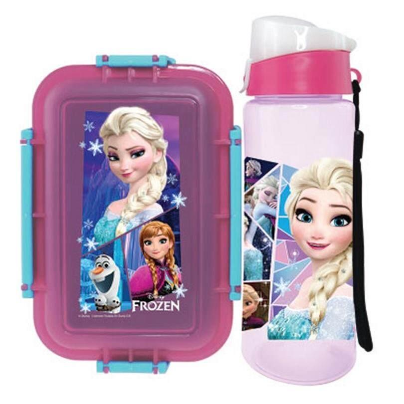 Disney Frozen Lunch Box Bottle Gift Set (BPA-Free)