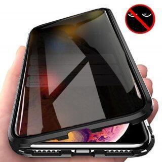 Ốp Điện Thoại Kính Cường Lực Nam Châm Ốp Bảo Vệ Toàn Diện 360 Độ Mini Từ Tính Cho Iphone 12 Pro Max 8 7 Plus 6 6S 11 Pro Max 12 XR XS MAX X 8 7 Plus 11 Pro thumbnail