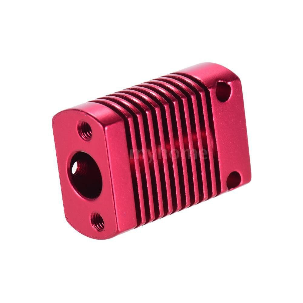 Printers & Projectors - Creality 3D Heat Sink Radiator Fin Aluminum Cooling Block 27 20 12mm for CR-10 Series/ Ender-3 - BURGUNDY