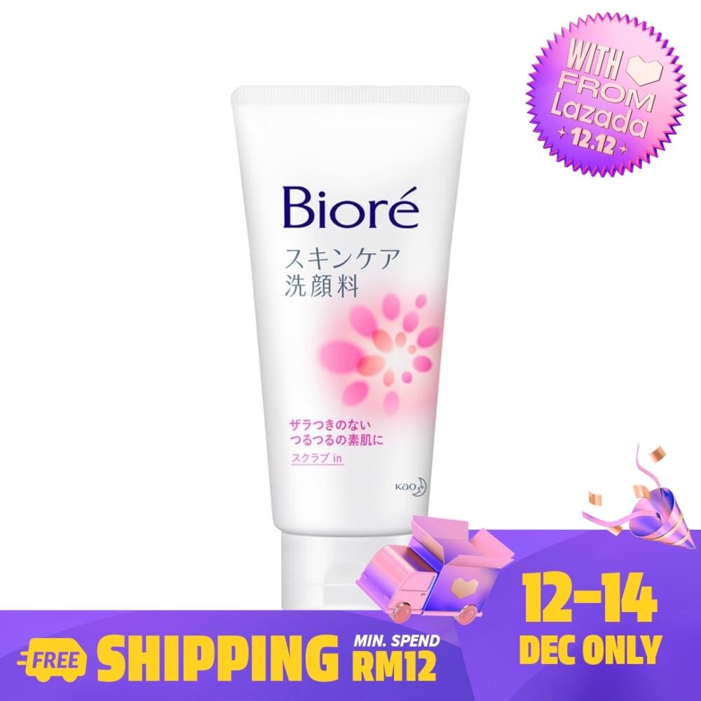 Biore Facial Foam Scrub 130g