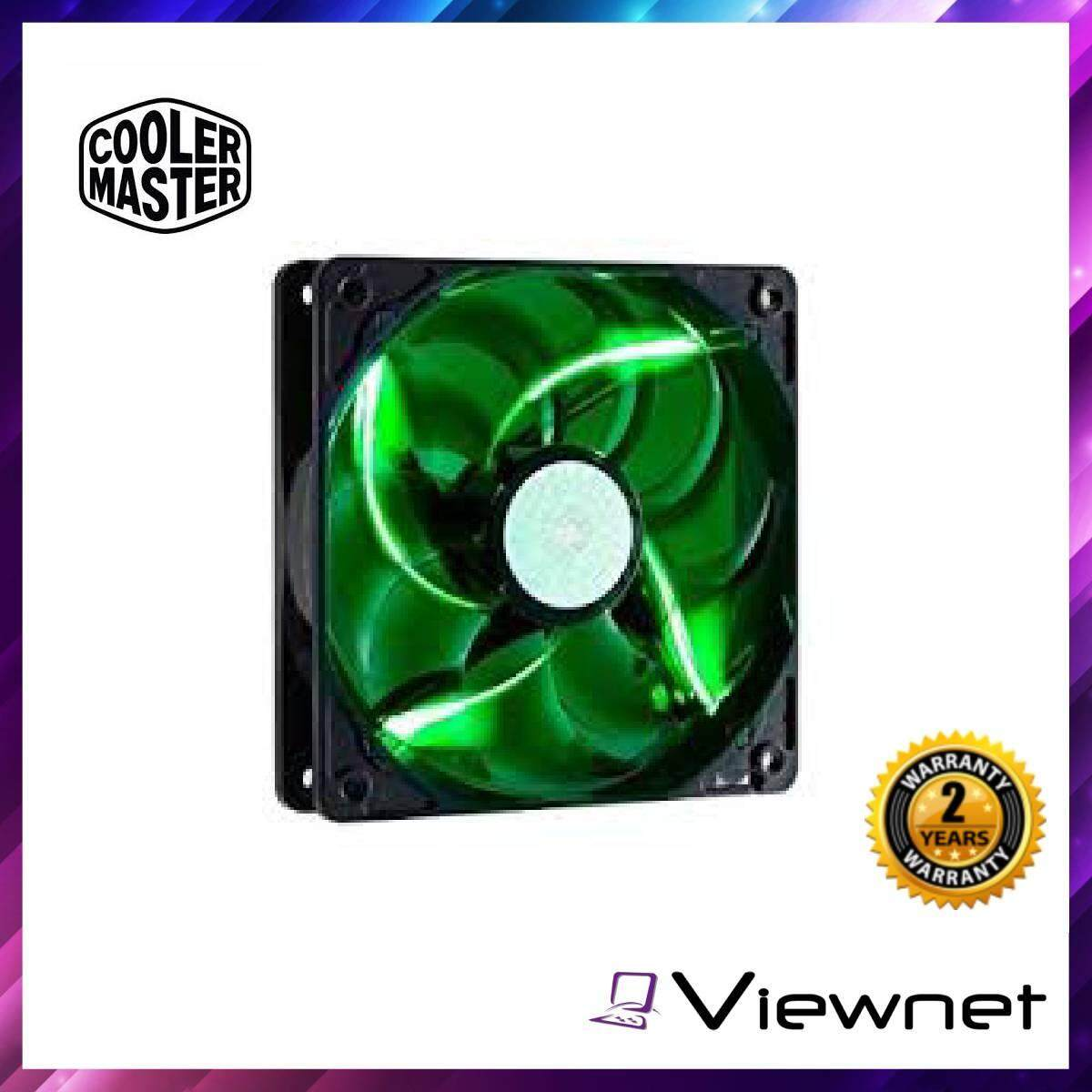 Cooler Master 12cm Sickle Flow X (Blue,Green,Red) (R4-SXDP-20FB-A1), 4th generation bearing, smart fan engine, smooth LED lights