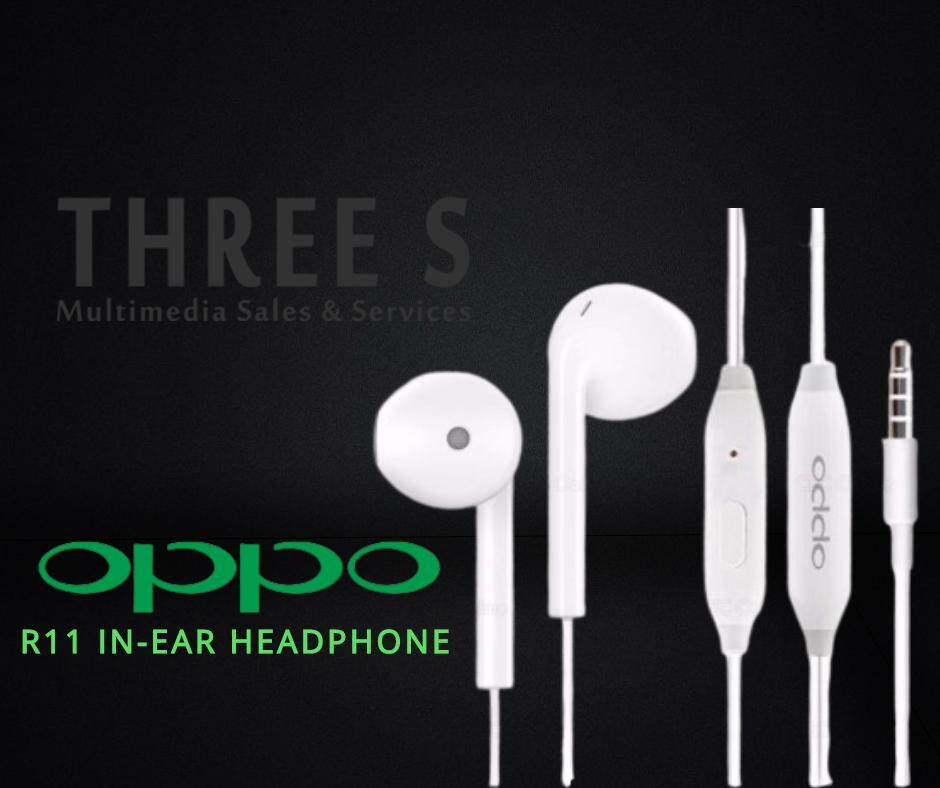 Ready Stock- Oppo R11 In-Ear Headphone