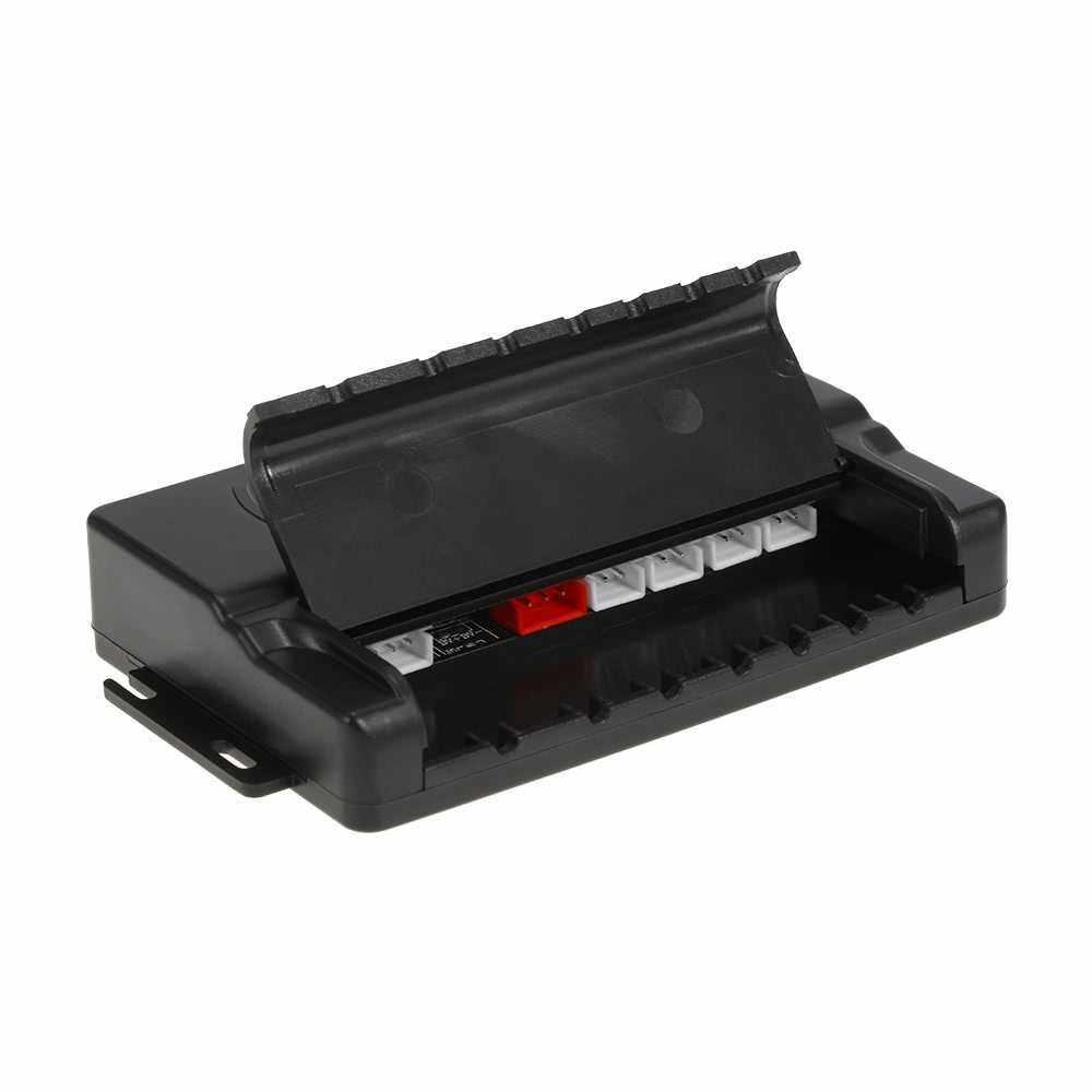 KKmoon Car Auto 4-Sensor Parking Radar Kit Reverse Radar Alarm System (Black)