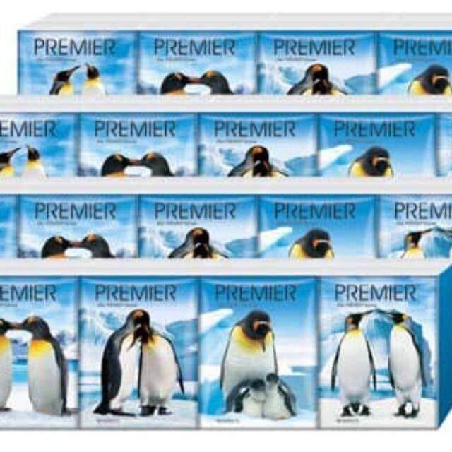 PREMIER Tissue Hanky Pack (12 Packets x11's x 5Tube)