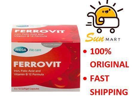 MEGA WE CARE FERROVIT 5 X10'S