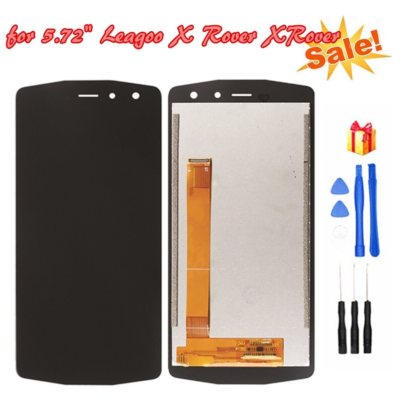 For 5.72\'\' Leagoo X Rover XRover LCD Display and Touch Screen Digitizer Assembly Replacement with