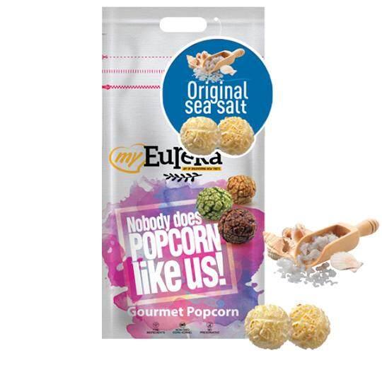 Eureka Original Sea Salt Popcorn Snack (Aluminium Pack)