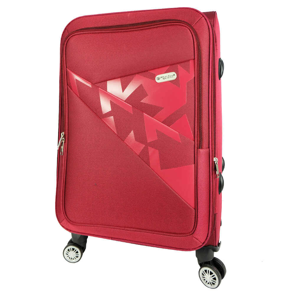 """Poly-Club 24"""" 4W EVA Expandable Soft Case Trolley Luggage BE9921"""