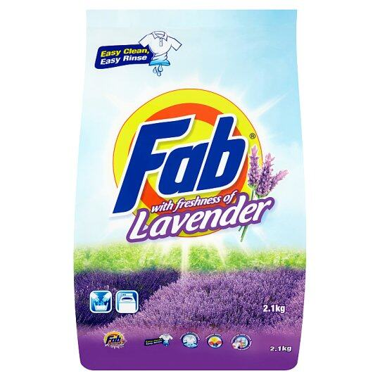 Fab With Freshness Of Lavender Detergent Powder 2.1kg