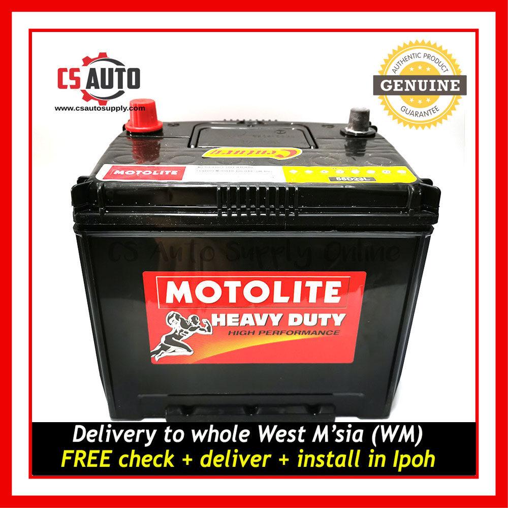 [cs auto] Century 55D23L Motolite Car Battery MF for Proton Preve, Exora, Toyota Camry, Vellfire and Mazda Ipoh area