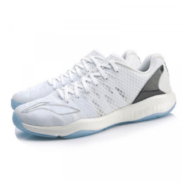 Li-Ning Gyrfalcon II Professional Men's Badminton Shoes - White AYAP009-3