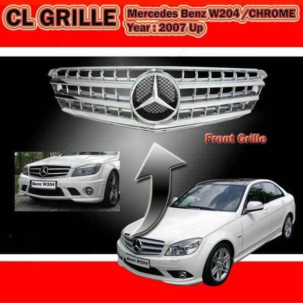 Mercedes Benz W204 08-09 CL Chrome Sport Grille