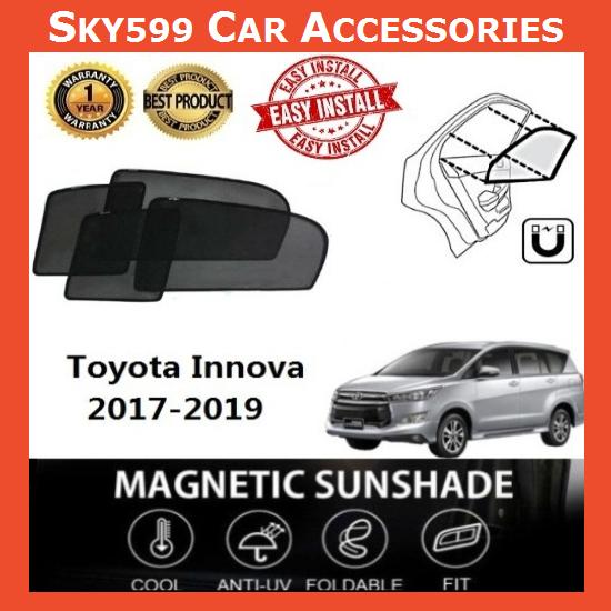 Toyota Innova 2017-2020 Magnetic Sunshade [6 PCS]