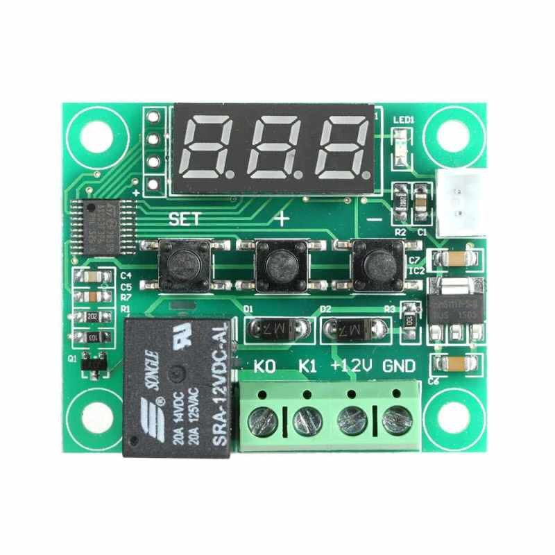 -50-110C W1209 DC 12V Digital Mini Thermostat Temperature Controller Control Switch Sensor Module