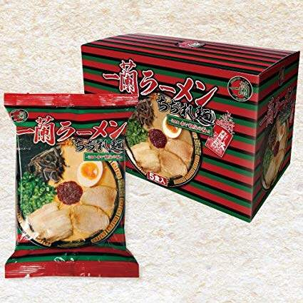 Ichiran Ramen Instant Curly Noodles including Original Red Dry Sauce Single Pack- Original from Japan (READY STOCK)