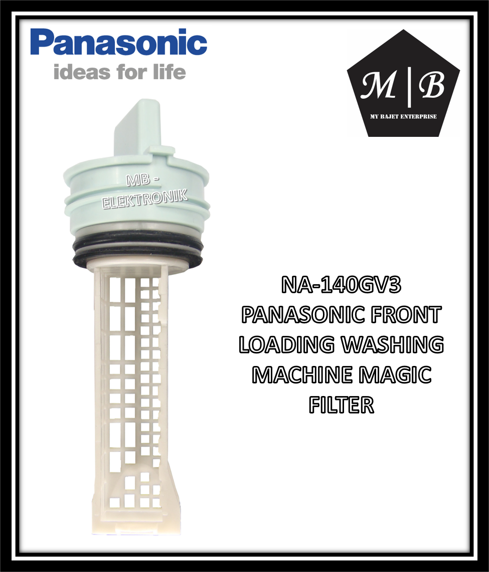 {ORIGINAL} {1 PCS} PANASONIC FRONT LOADING WASHING MACHINE MAGIC FILTER NA-140GV3