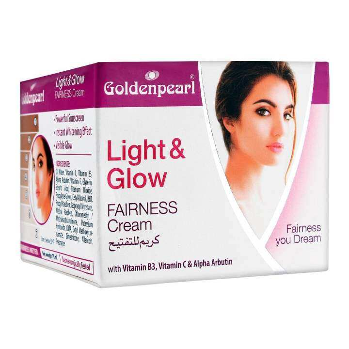 Golden Pearl Light & Glow Fairness Cream (Premium Quality) Special Price