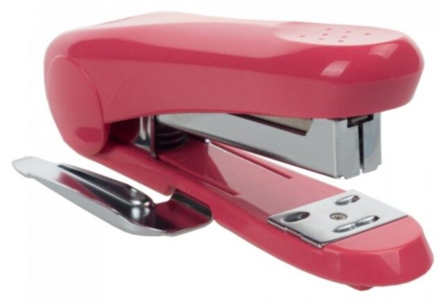 MAX Stapler HD-88R (rounded handle) Pink