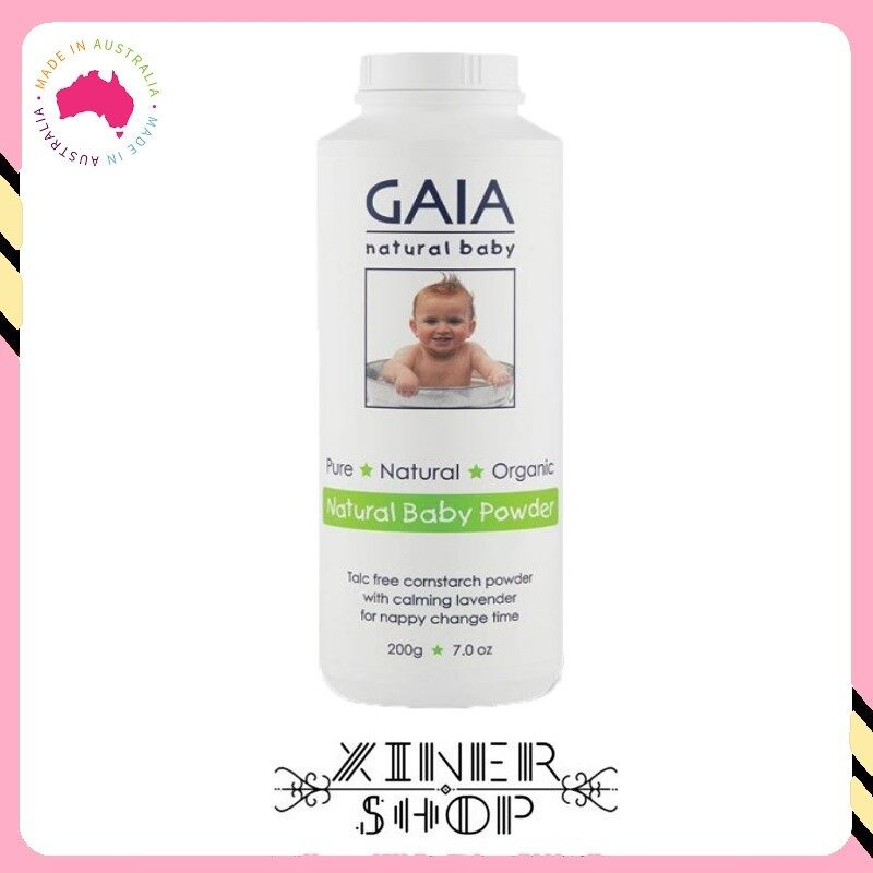 [Pre Order] GAIA Natural Baby Powder ( 200g )(Made in Australia)