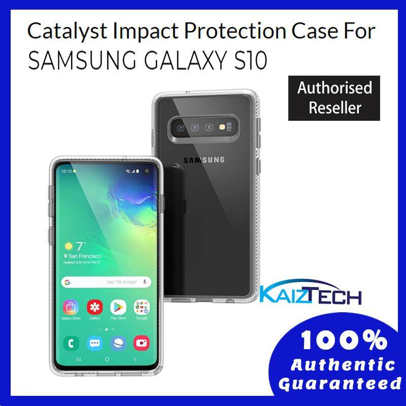 Original Catalyst Impact Protection Case For Samsung Galaxy S10 - Clear