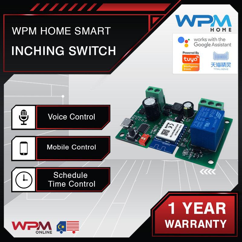 [WPM Home Smart Inching Switch] Relay WiFi Tuya 12V Wireless Relay Module SingleWay Inching Switch Self-Locking Timing APP Remote Control