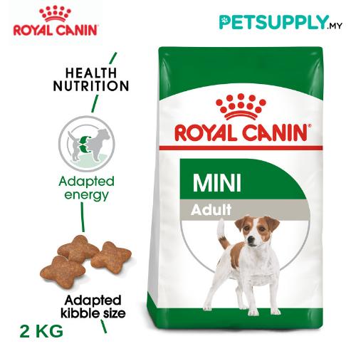 Royal Canin Dry Dog Food Mini Adult 2kg [makanan anjing - PETSUPPLY.MY]