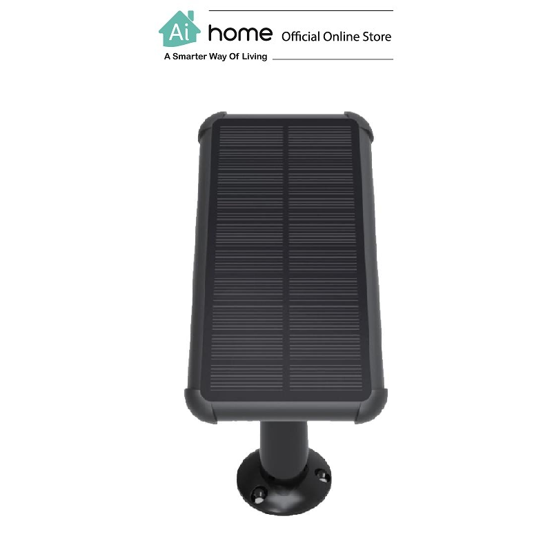 EZVIZ C3A Solar Panel (Black) with 1 Year Malaysia Warranty [ Ai Home ]